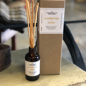 Intuition of Murray | Scents | Commonwealth Provisions Reed Diffuser | Clementine + Clove