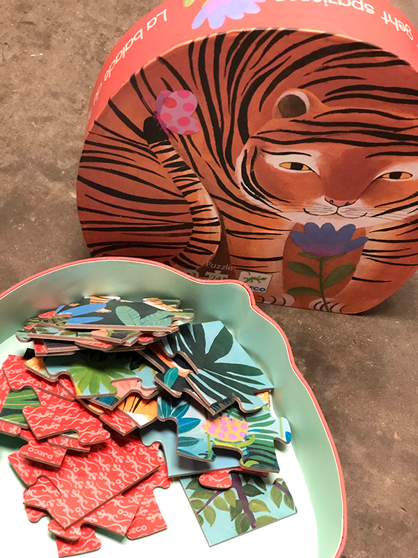Intuition of Murray | Kids | Tiger Puzzle