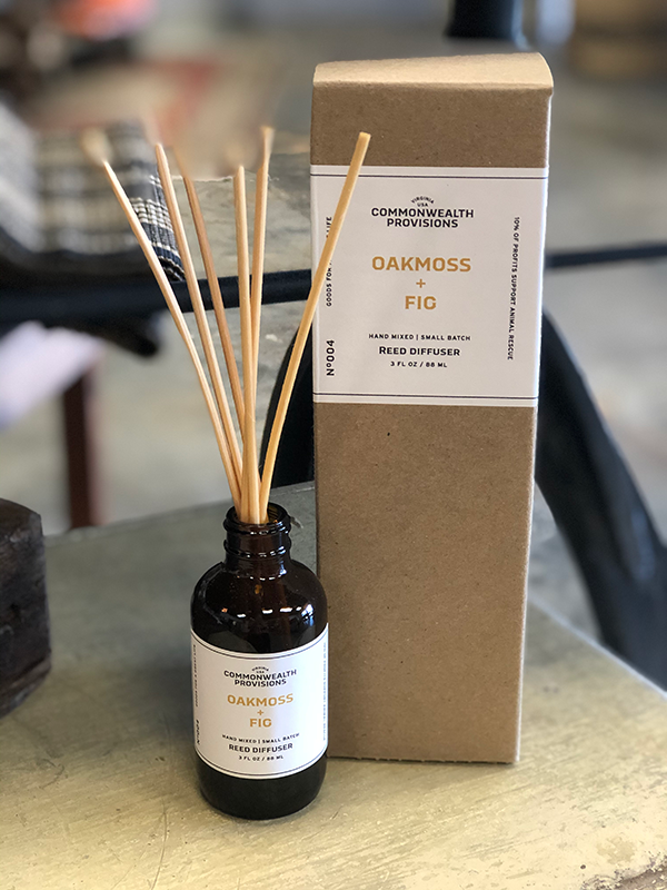 Intuition of Murray | Scents | Commonwealth Provisions Reed Diffuser | Oakmoss + Fig