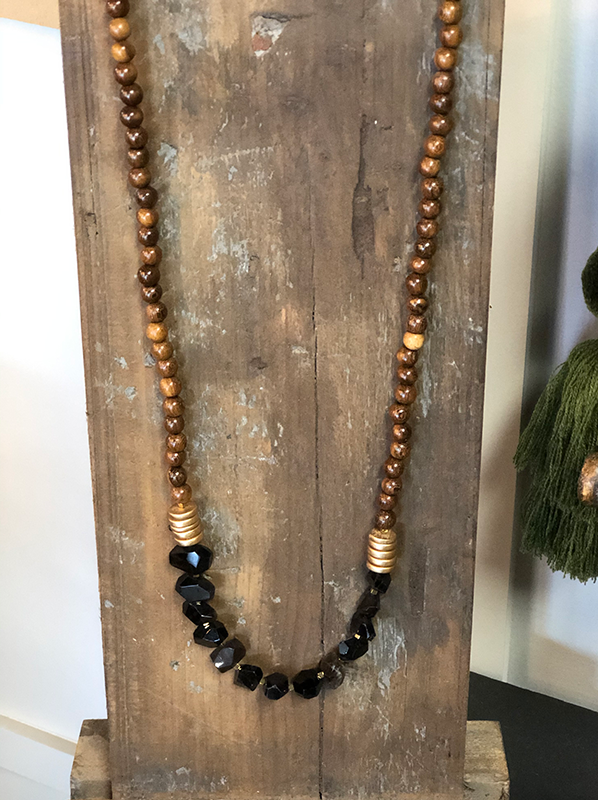 Intuition of Murray | Jewelry | Angelica Necklace | Black
