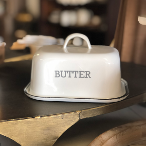 Intuition of Murray | Decor | Kitchen | Enamel Butter Dish