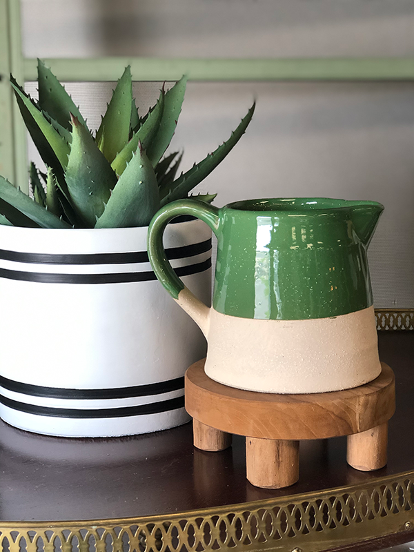 Intuition of Murray | Decor | Green Ceramic Pitcher