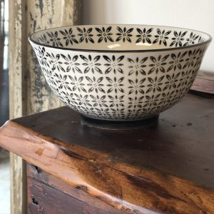 Intuition of Murray | Kitchen | Kentucky | Black and White Printed Cereal Bowl