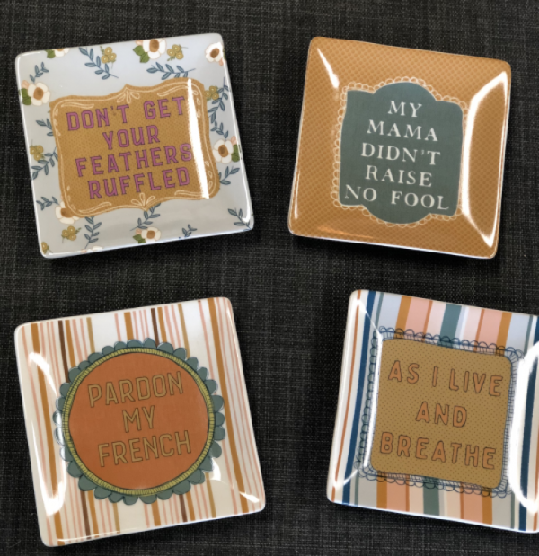 Intuition of Murray | Gifts | Kentucky | Stoneware Sassy Sayings | Trinket Tray